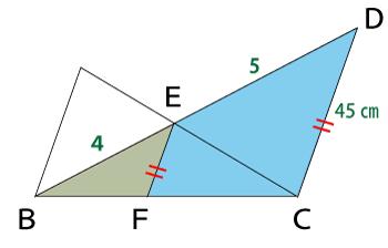相似な三角形の長さ