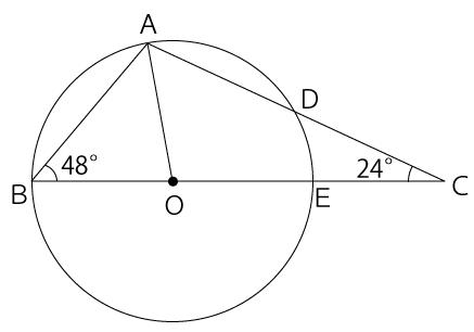 三角形と円