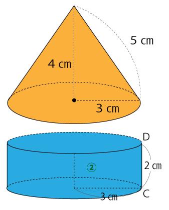 円柱と円すいの体積