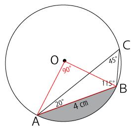 中心角の角度
